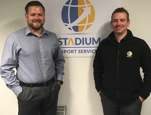 New staff at Stadium Export Services